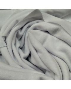 *ODDS & ENDS* 40m WHOLE ROLL - White Suedecloth